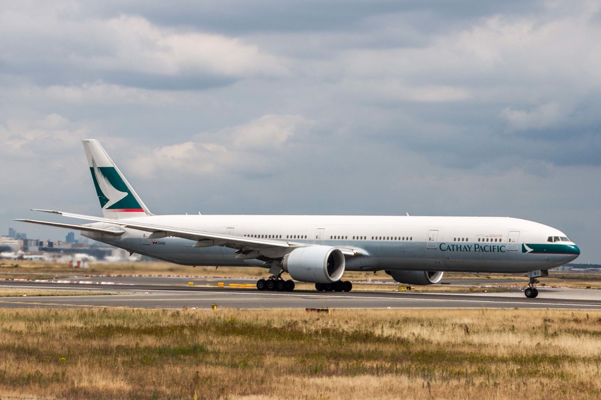 Cathay Pacific Airways (CX-CPA), B-KQJ, Boeing, 777-367 ER, 10.07.2017, FRA-EDDF, Frankfurt, Germany