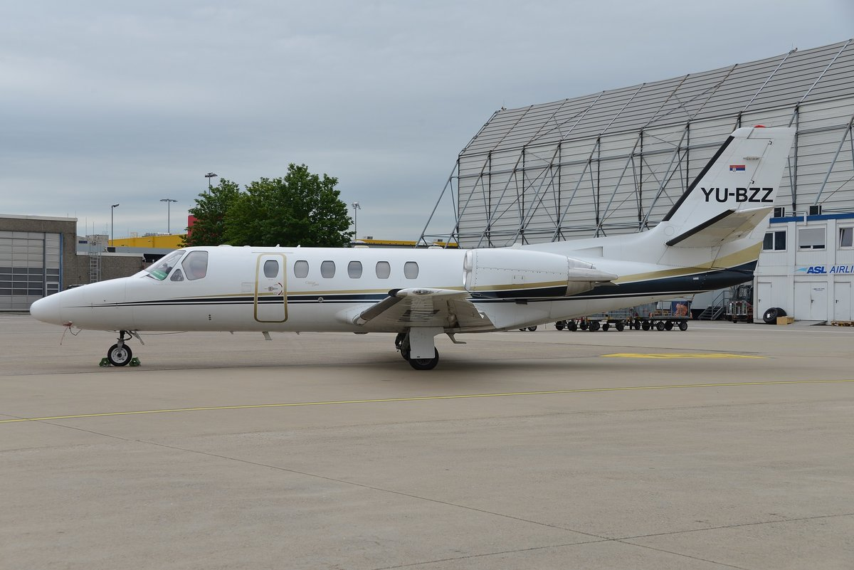 Cessna 550 Citation Bravo - PNK Air Pink - 550-0924 - YU-BZZ - 30.05.2019 - CGN