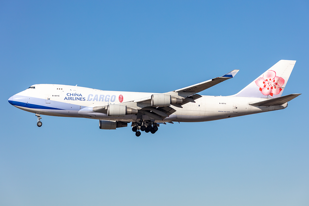 China Airlines Cargo, B18716, Boeing, B747-409F-SCD, 21.02.2021, FRA, Frankfurt, Germany