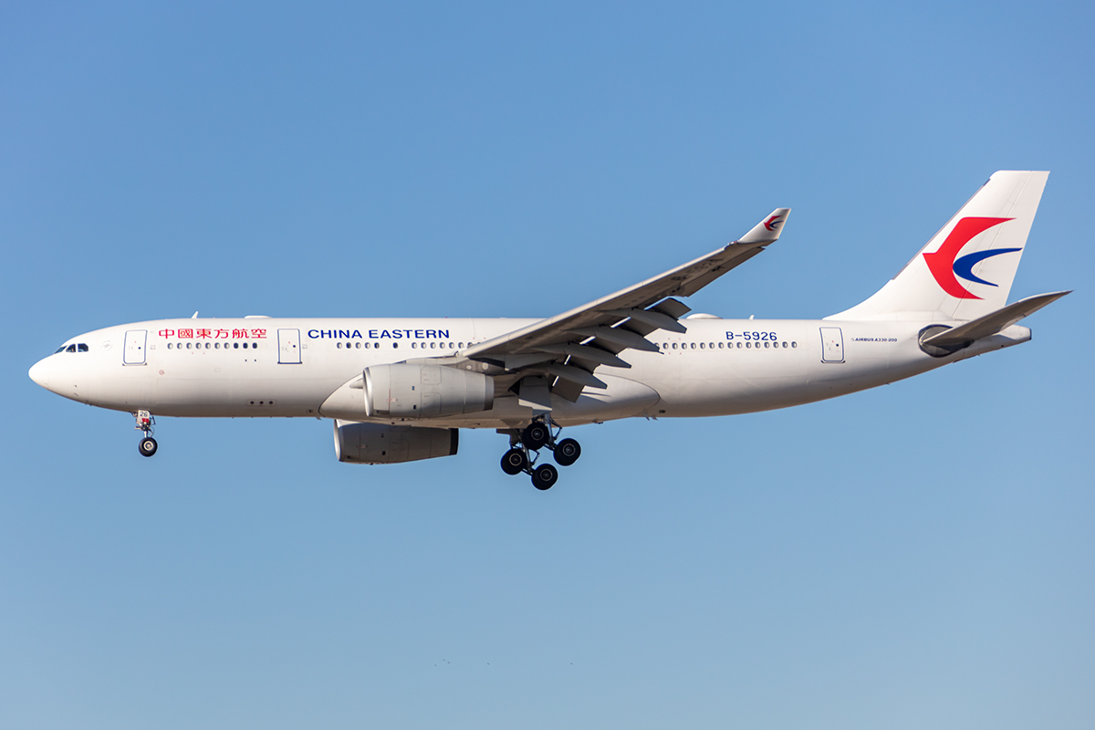 China Eastern Airlines, B-5926, Airbus, A330-243 , 21.02.2021, FRA, Frankfurt, Germany