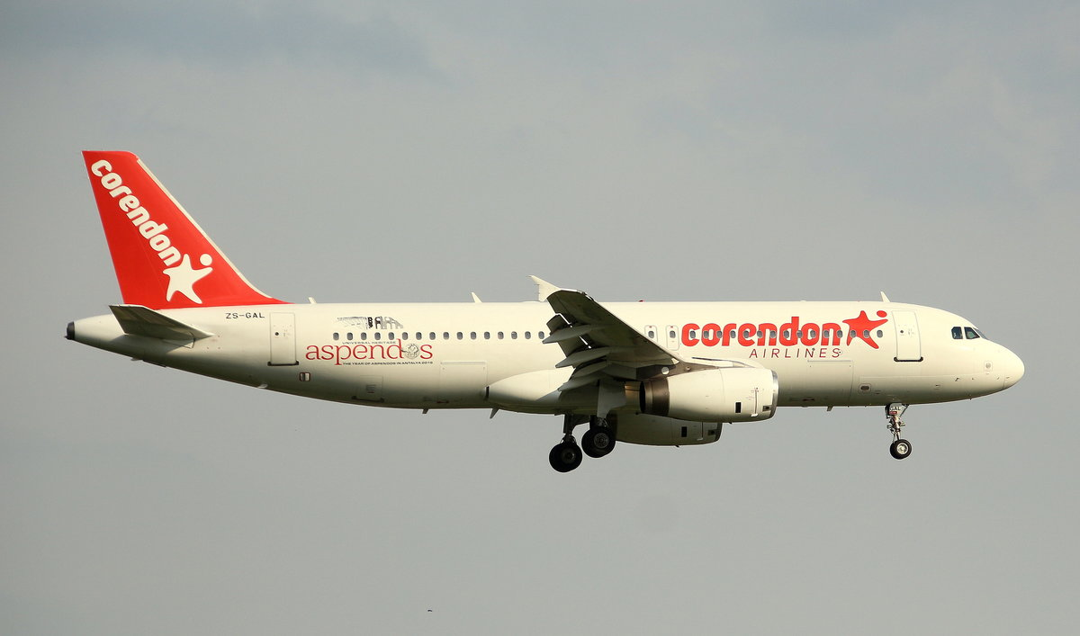 Corendon Airlines,ZS-GAL,MSN 64,Airbus A 320-231,23.05.2019,HAM-EDDH,Hamburg,Germany