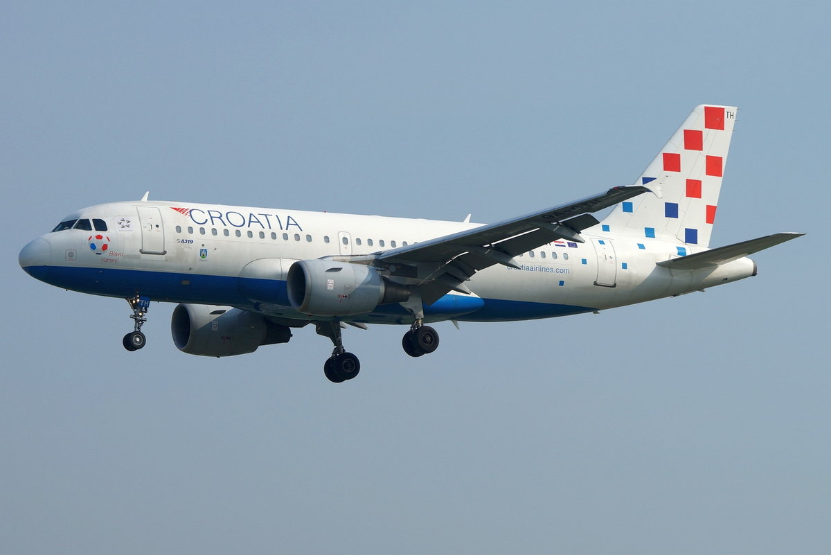 Croatia Airlines, Airbus A319-112 9A-CTH, cn(MSN): 833,