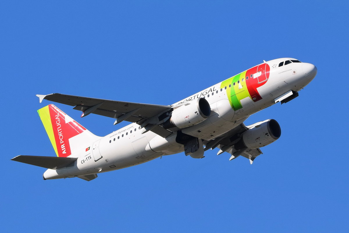 CS-TTS TAP - Air Portugal Airbus A319-112 , 13.10.2018 , MUC