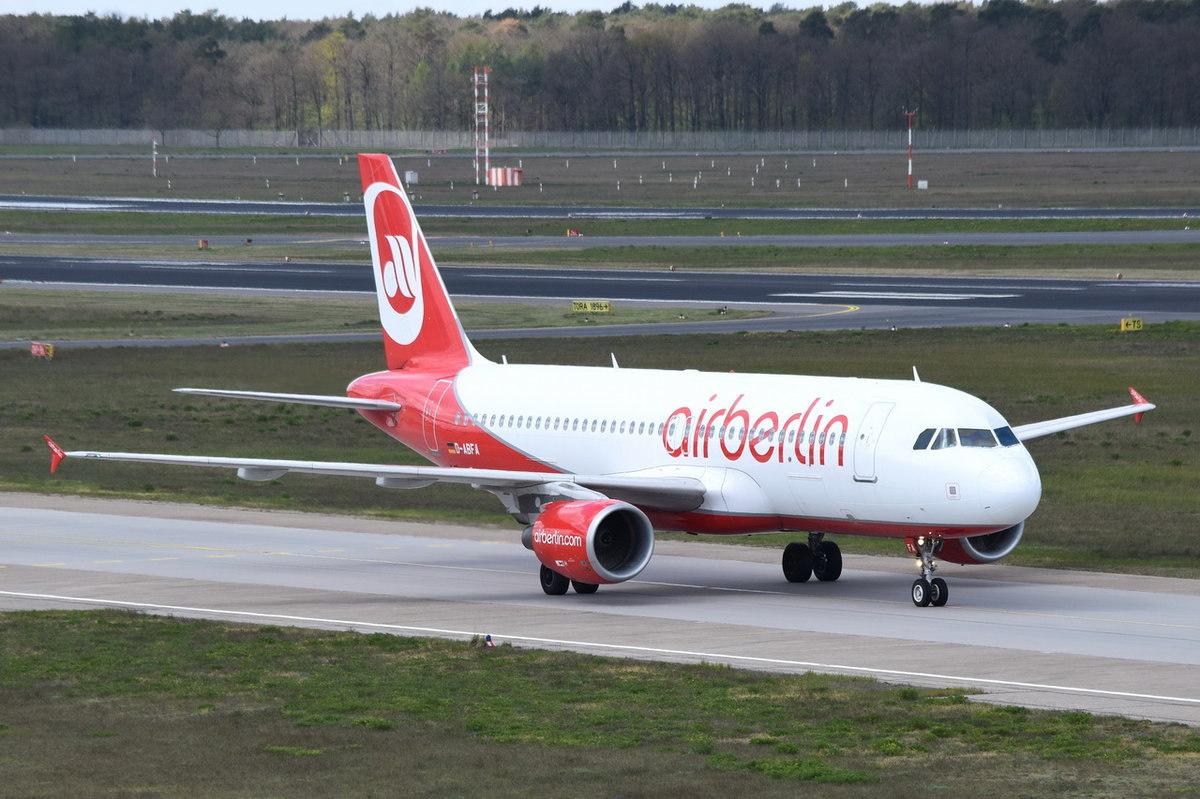 D-ABFA Air Berlin Airbus A320-214  , TXL , 26.04.2017
