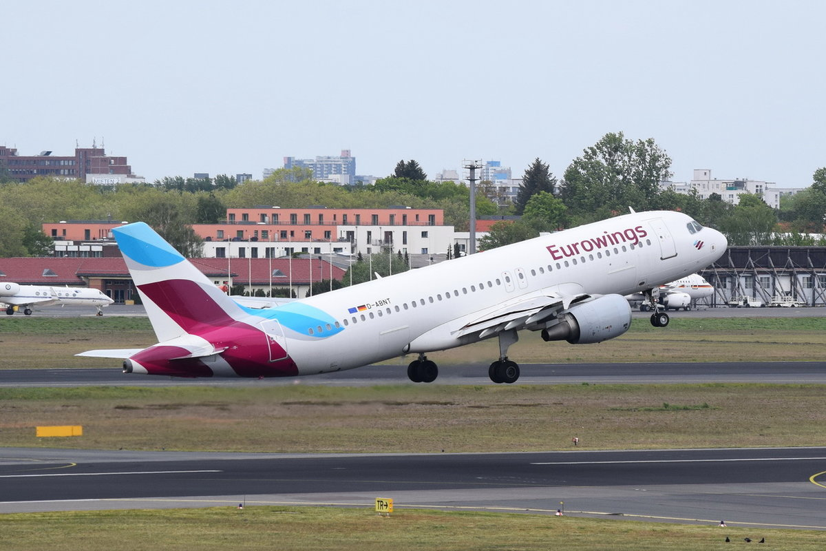 D-ABNT Eurowings Airbus A320-214 , 08.05.2019 , TXL