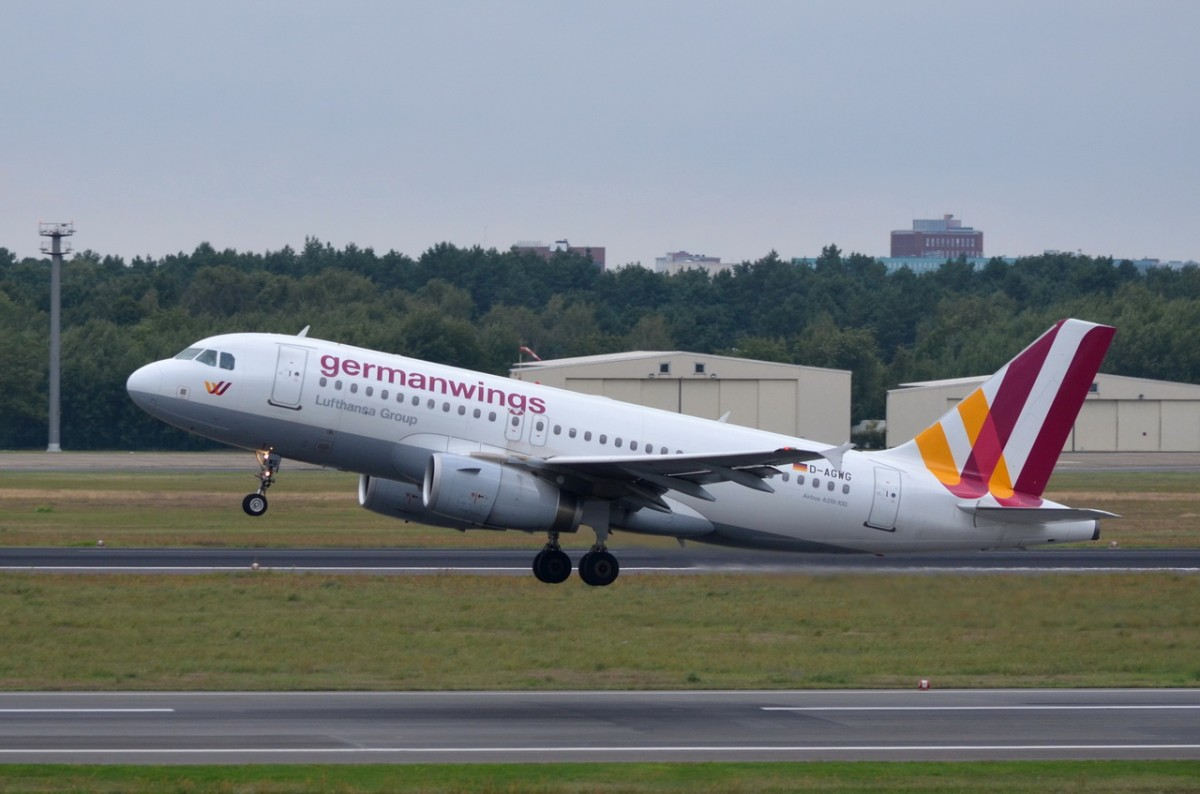 D-AGWG Germanwings Airbus A319-132   gestartet am 20.08.2014 in Tegel