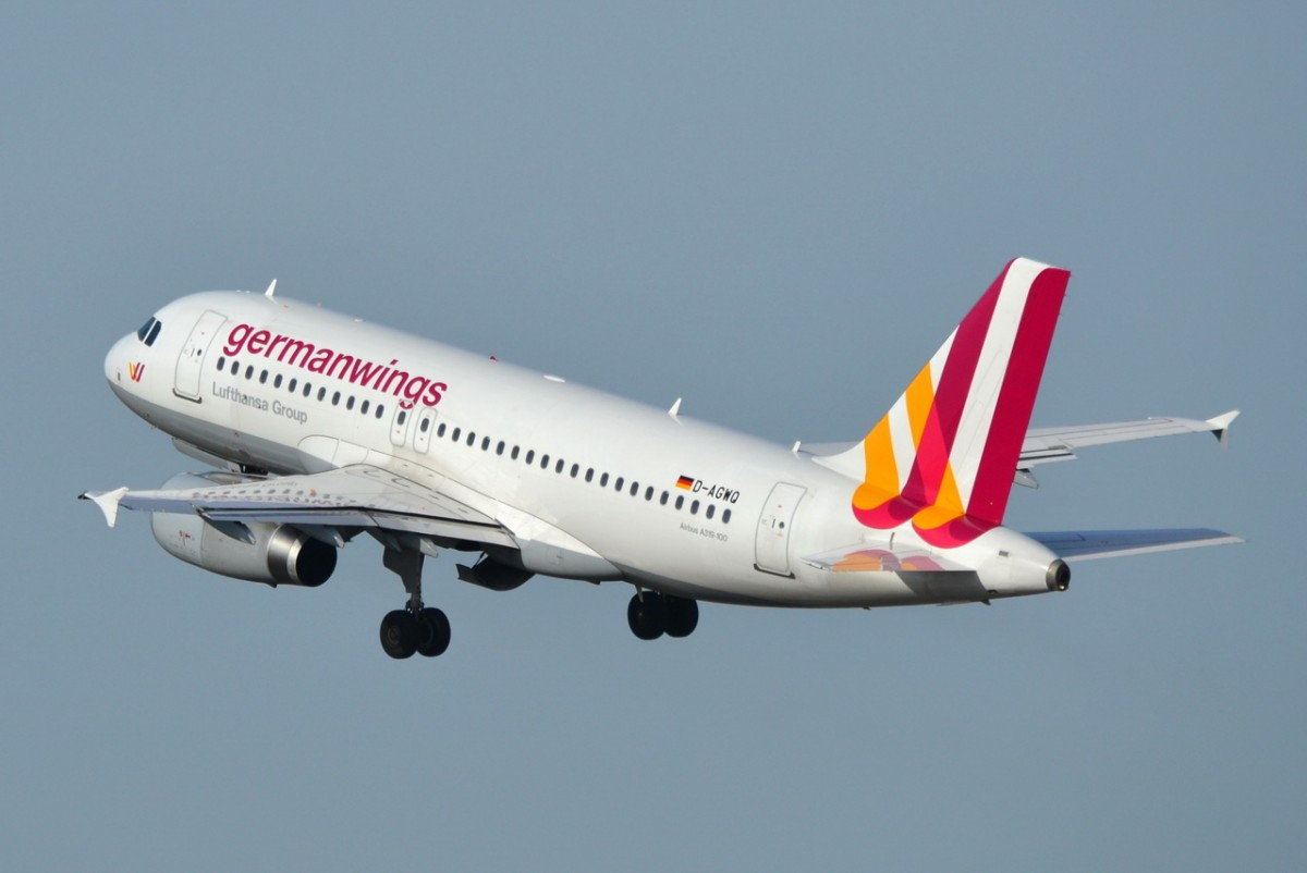 D-AGWQ Germanwings Airbus A319-132    18.02.2014  Berlin-Tegel