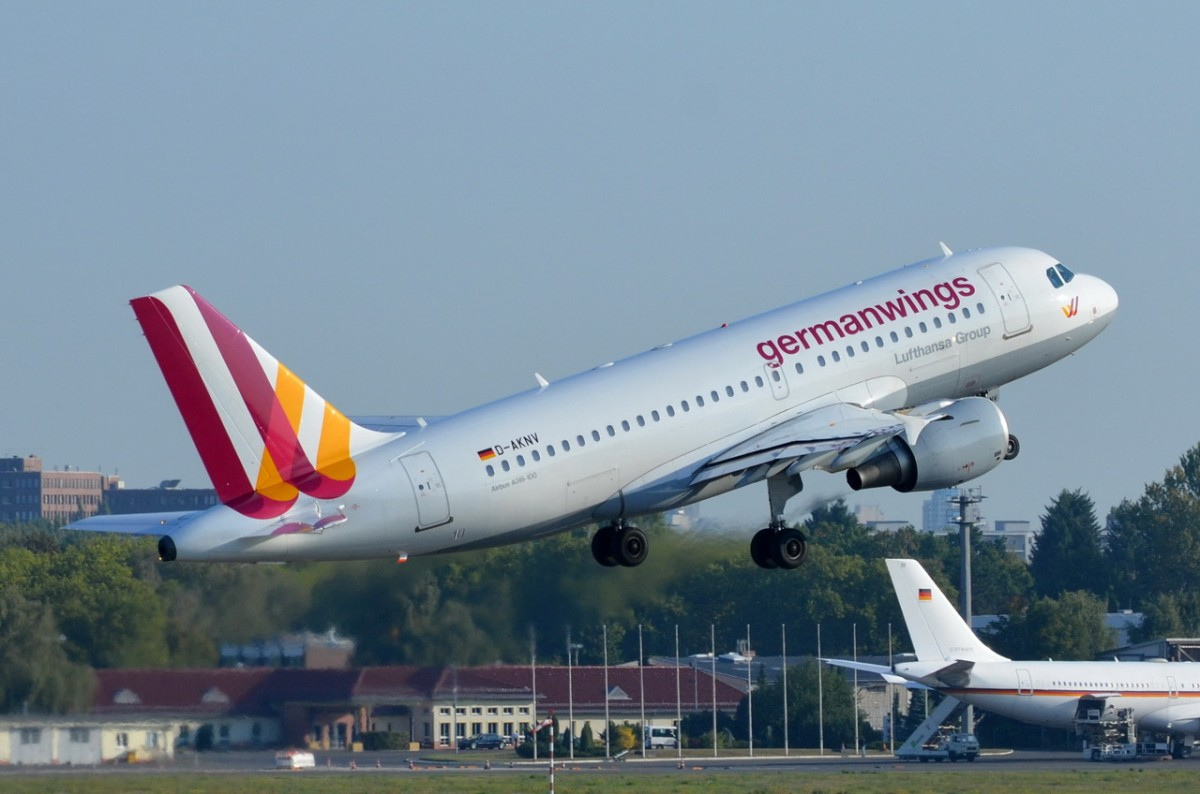D-AKNV Germanwings Airbus A319-112    am 04.09.2014 in Tegel gestartet