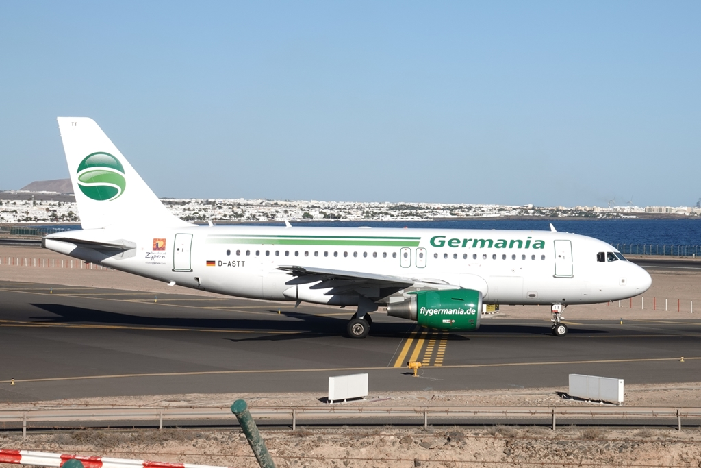 D-ASTT, A319-111, Germania, ACE 22.12.17