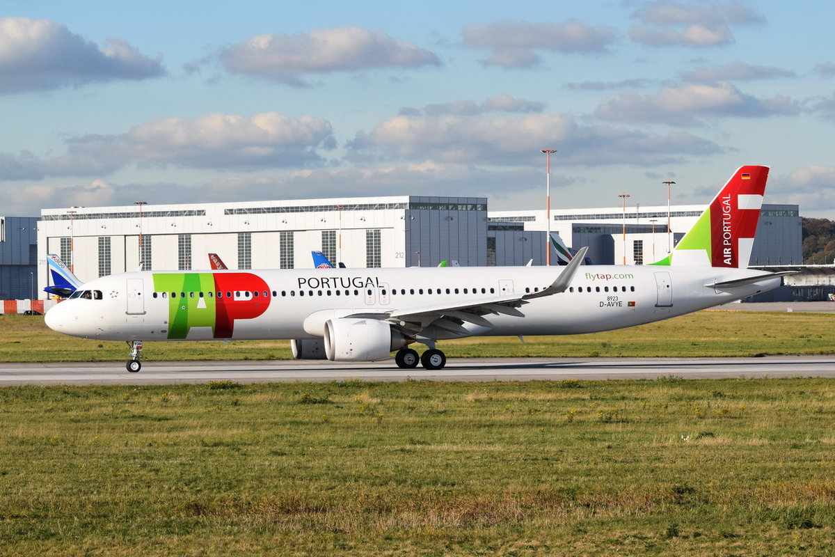 D-AVYE TAP - Air Portugal Airbus A321-251NX , CS-TJO , (MSN 8923) , XFW , 30.10.2019