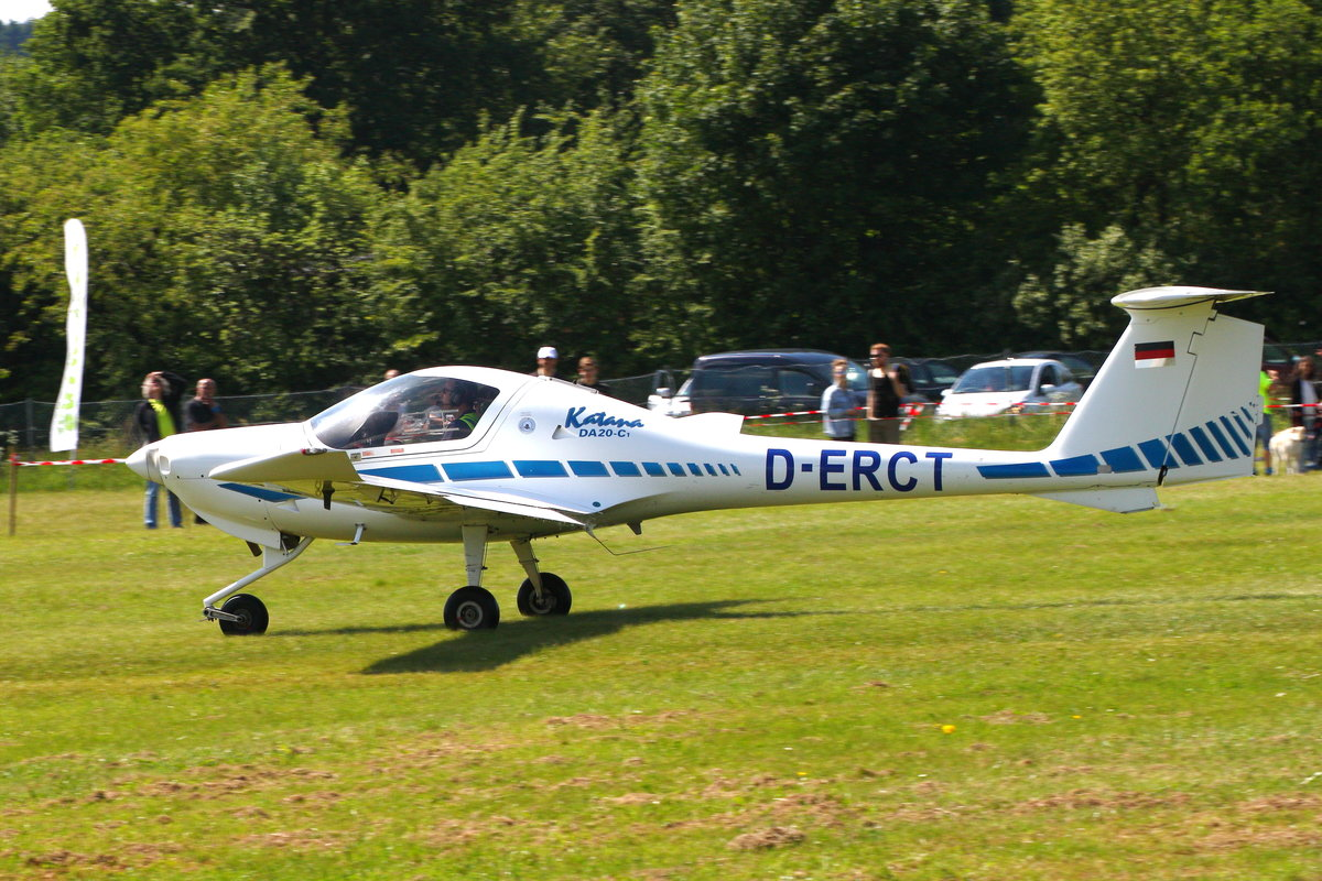 D-ERCT, Diamond DA20-C1 Katana in Ailertchen (EDGA)am 04.06.2017.