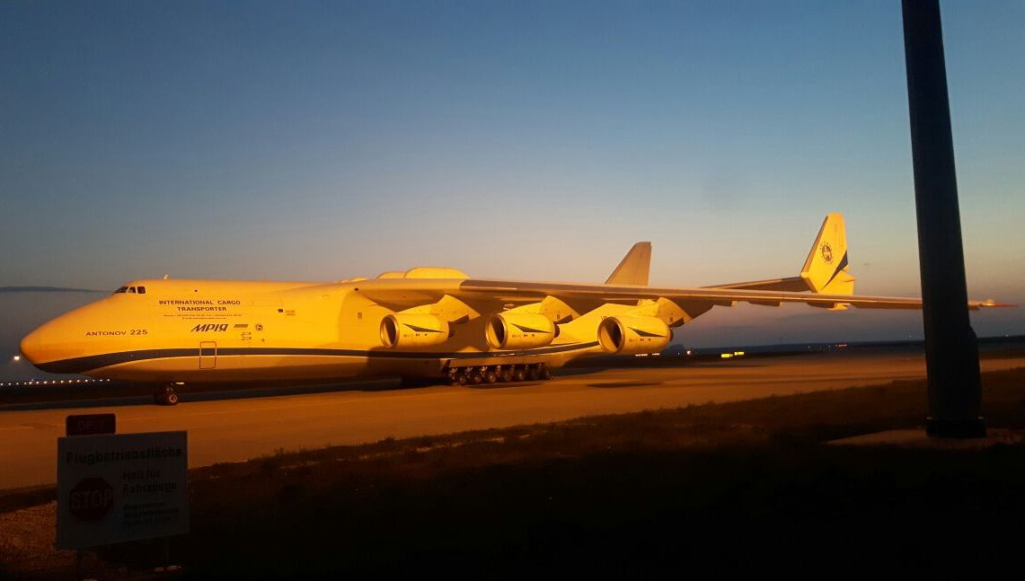 Antonov An 225 Fotos Flugzeug Bildde