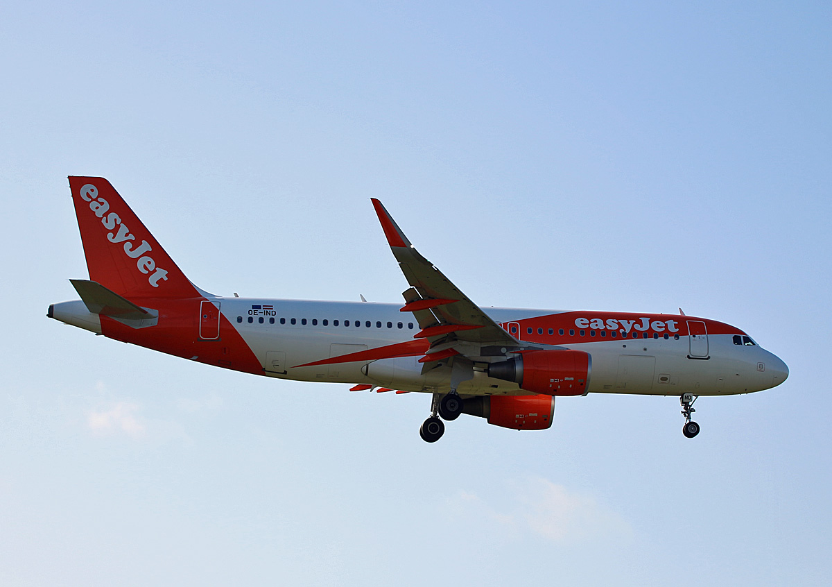 Easyjet Europe, Airbus A 320-214, OE-IND, TXL, 19.09.2019