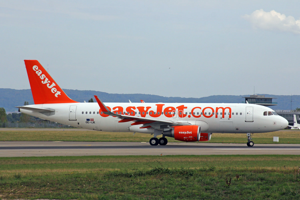 easyJet Europe, OE-IJK, Airbus A320-214, msn: 6565, 06.September 2018, BSL Basel-Mülhausen, Switzerland.