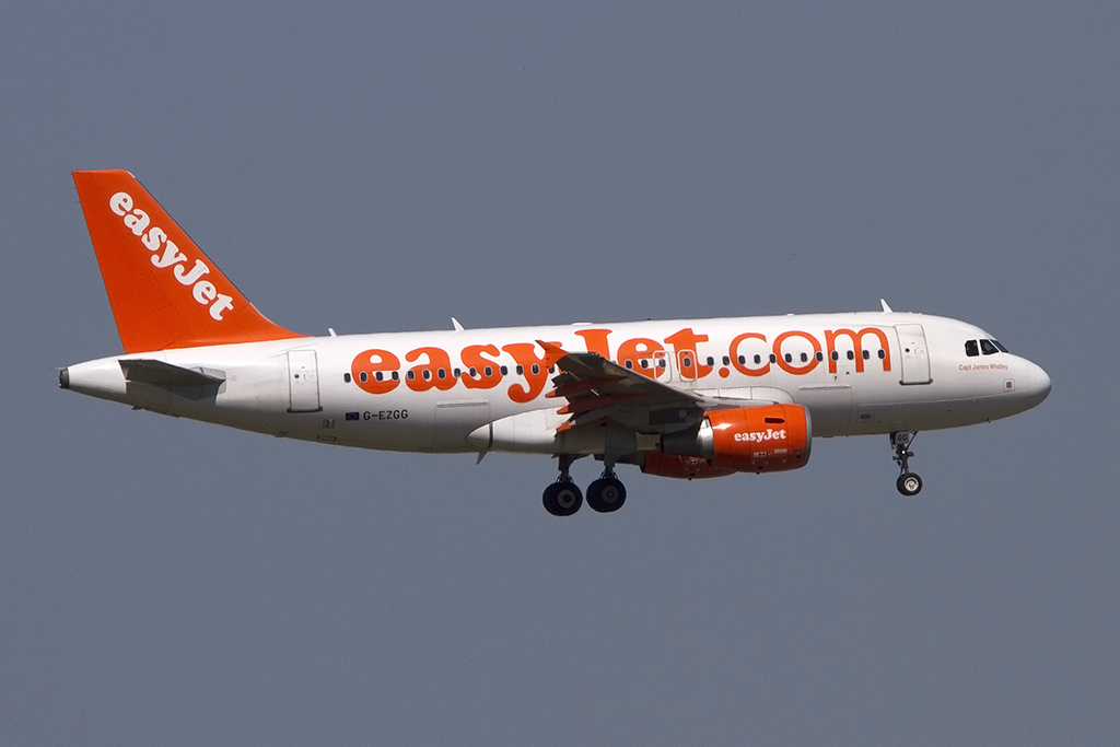EasyJet, G-EZGG, Airbus, A319-111, 05.06.2014, TLS, Toulouse, France