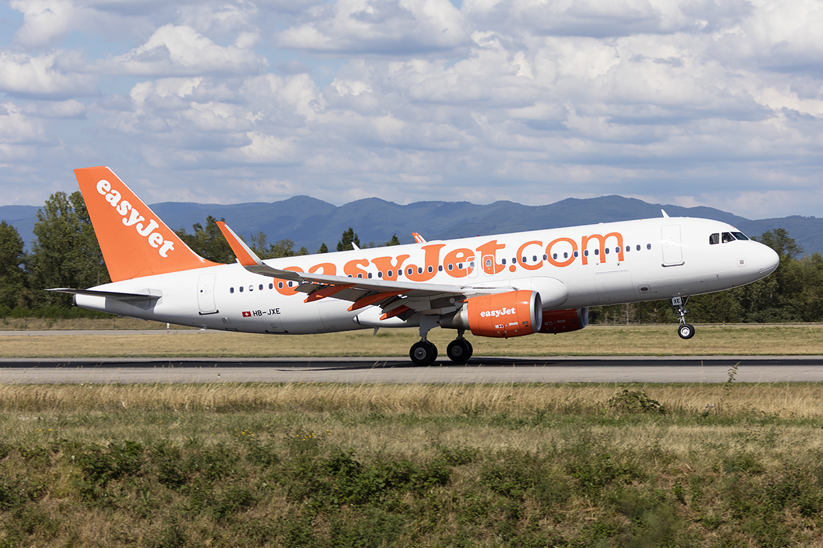 EasyJet, HB-JXE, Airbus, A320-214, 17.07.2017, BSL, Basel, Switzerland