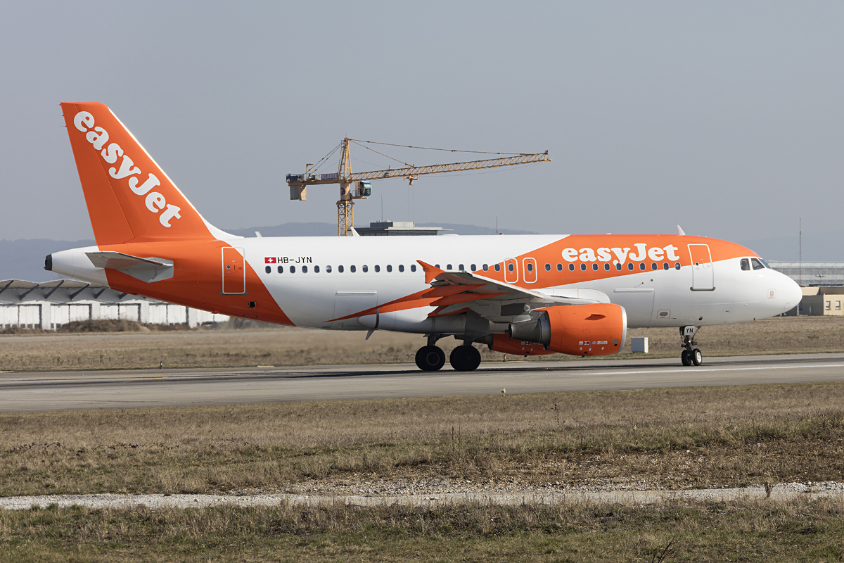EasyJet, HB-JYN, Airbus, A320-214, 15.03.2017, BSL, Basel, Switzerland