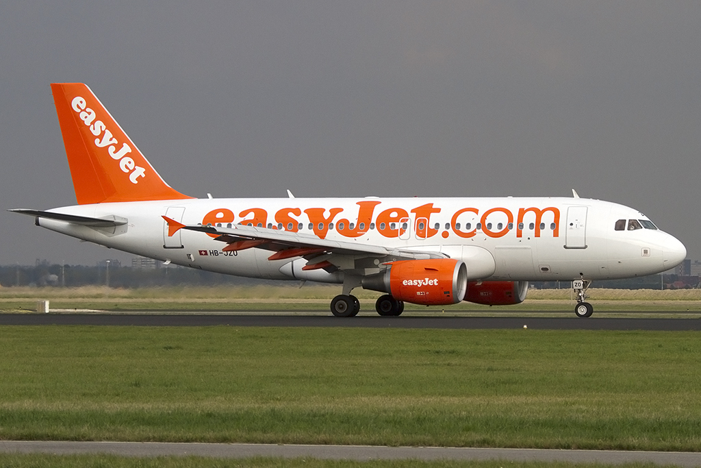 EasyJet, HB-JZO, Airbus, A319-111, 07.10.2013, AMS, Amsterdam, Netherlands