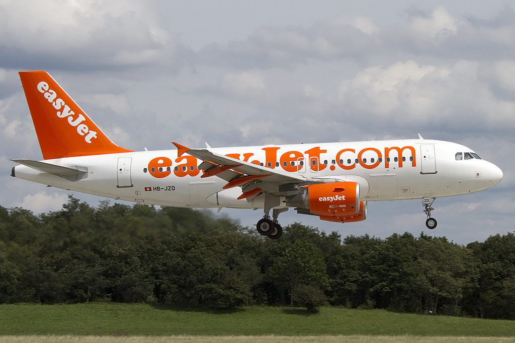 EasyJet, HB-JZQ, Airbus, A319-111, 17.08.2014, BSL, Basel, Switzerland