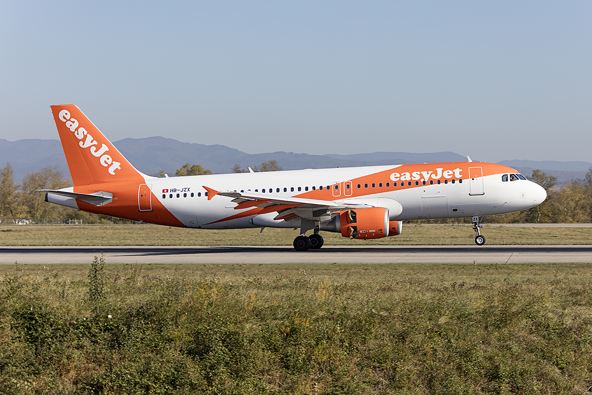 EasyJet, HB-JZX, Airbus, A320-214, 31.10.2017, BSL, Basel, Switzerland