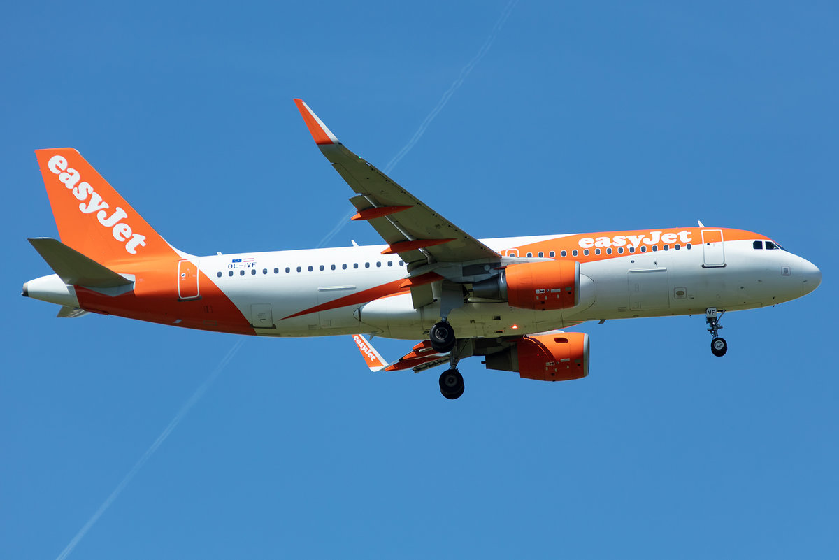EasyJet, OE-IVF, Airbus, A320-214, 13.05.2019, CDG, Paris, France