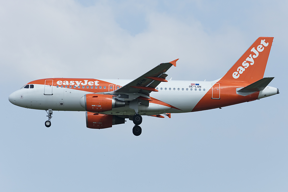 EasyJet, OE-LQN, Airbus, A319-111, 01.05.2019, MUC, München, Germany