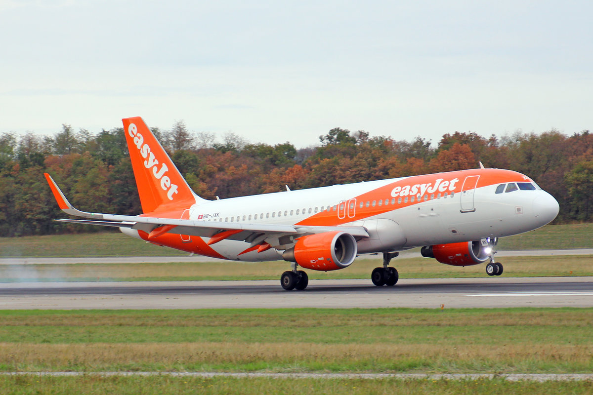 easyJet Switzerland, HB-JXK, Airbus A320-214, msn: 7779, 03.September 2018, BSL Basel-Mülhausen, Switzerland.