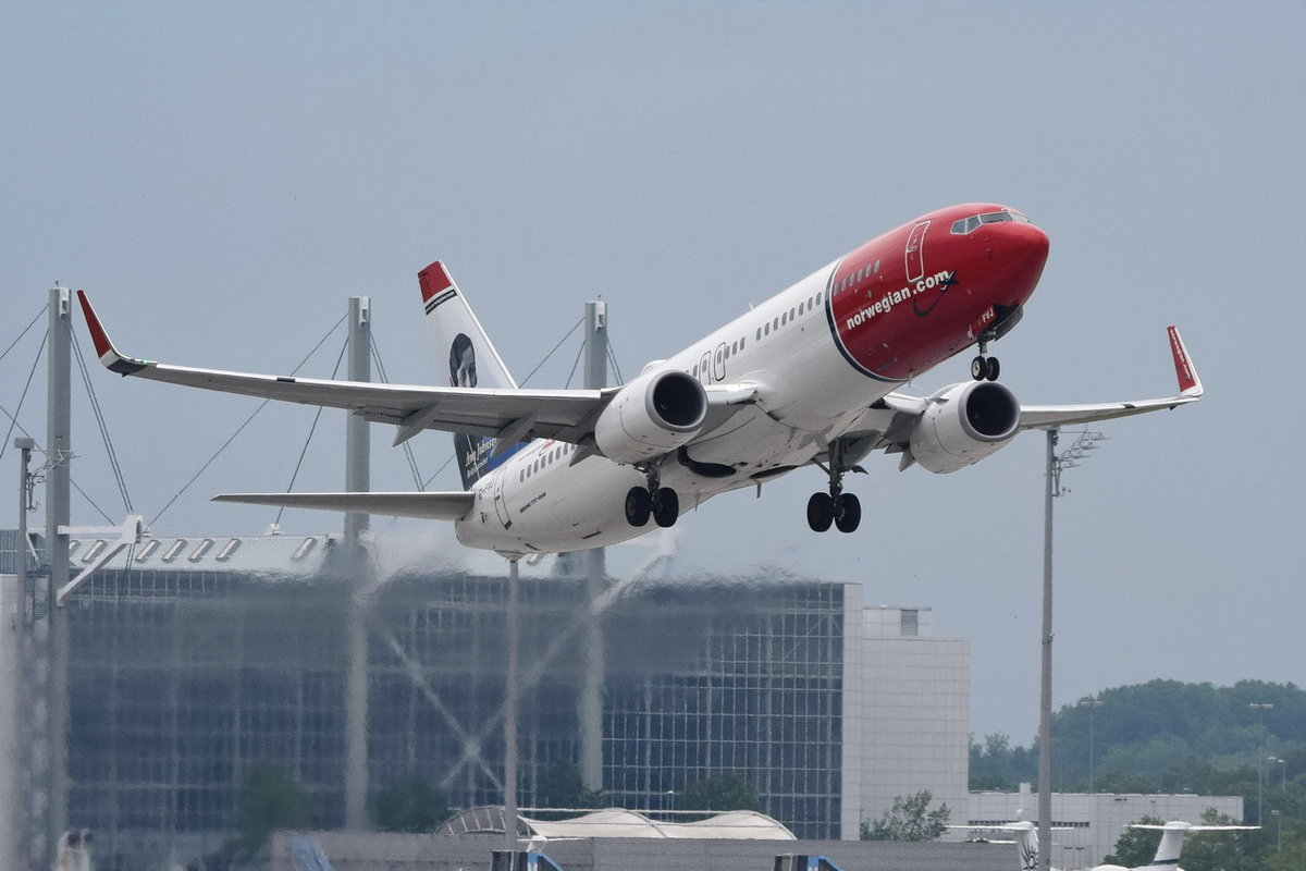 EI-FVJ Norwegian Air International Boeing 737-8JP(WL)  , MUC , 19.05.2018