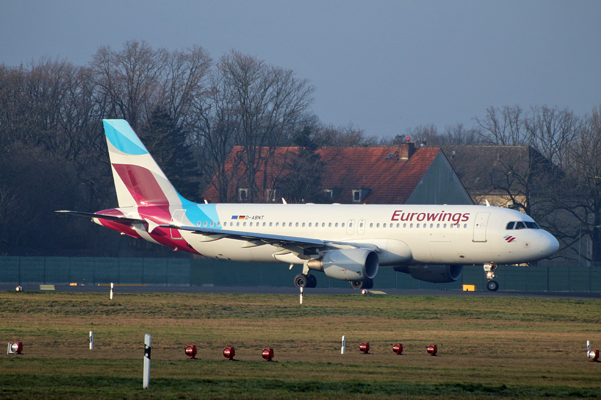 Eurowings, Airbus A 320-214, D-ABNT, TXL, 05.03.2020