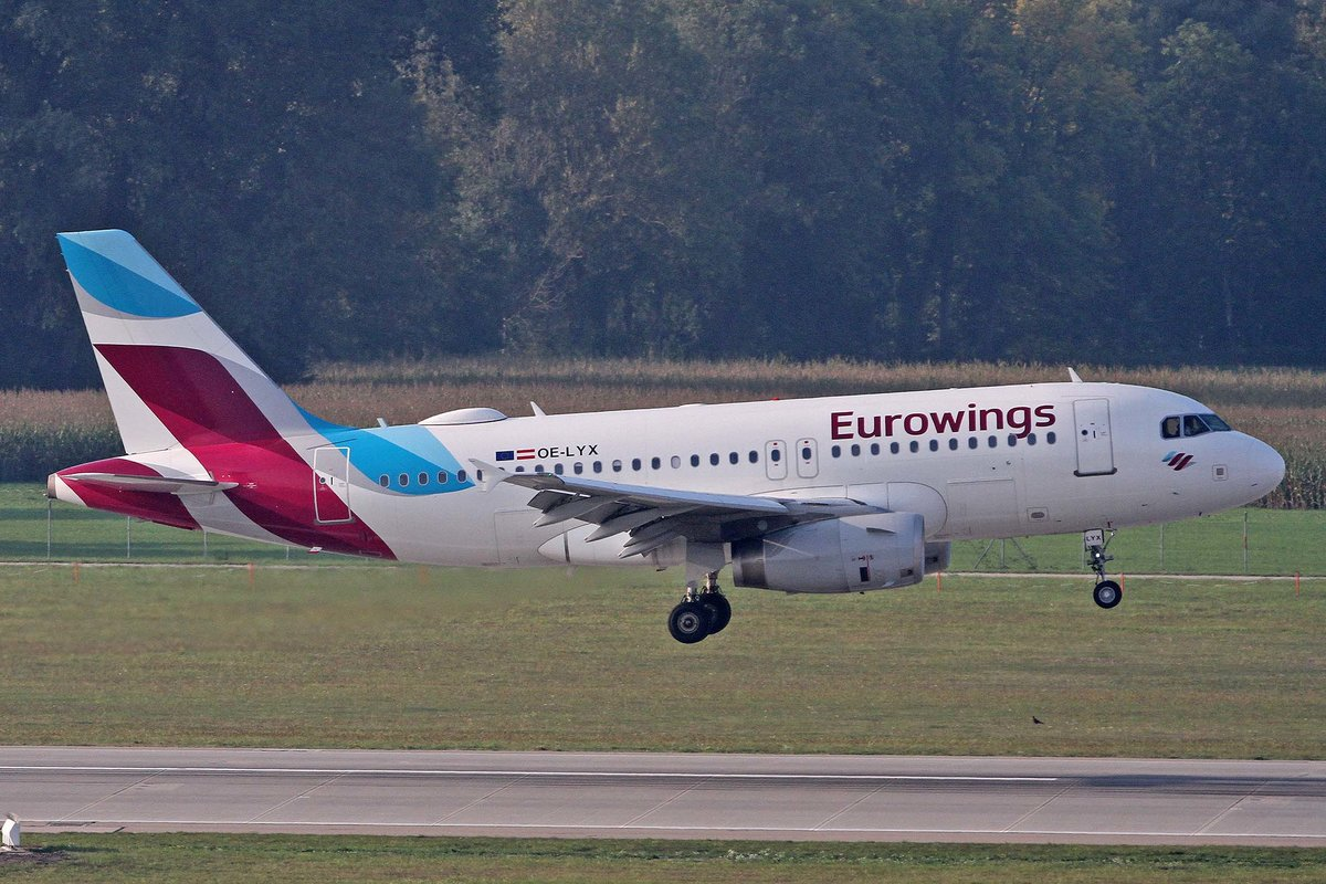 Eurowings Europe, OE-LYX, Airbus, A 319-132, MUC-EDDM, München, 05.09.2018, Germany
