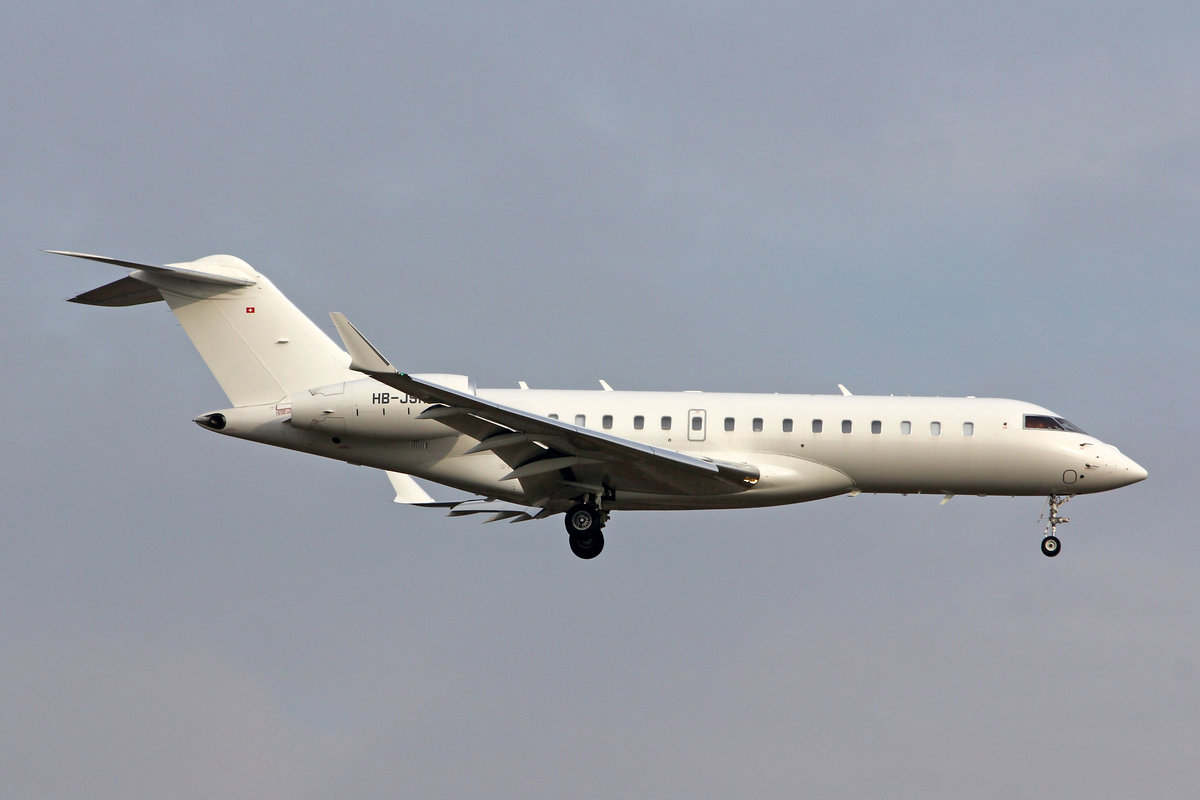 ExecuJet Europe AG, HB-JSK, Bombardier Global 6000, msn: 9805, 23.Januar 2019, ZRH Zürich, Switzerland.