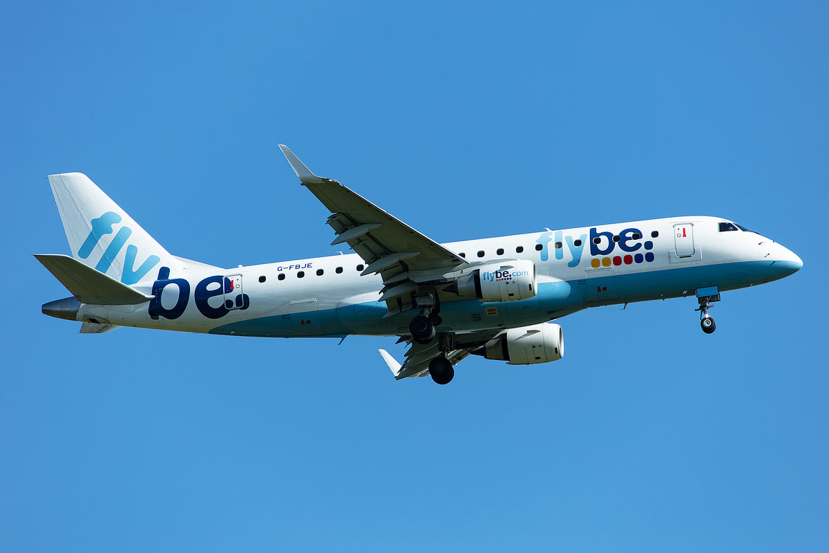 Flybe, G-FBJE, Embraer, ERJ-175, 14.05.2019, CDG, Paris, France