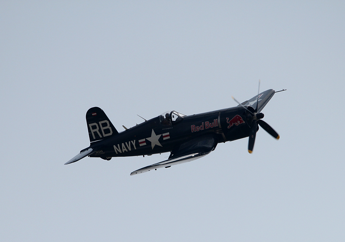 Flying Bulls, Vought F-4U-4 Corsair, OE-EAS, ILA 2014, 23.05.2014
