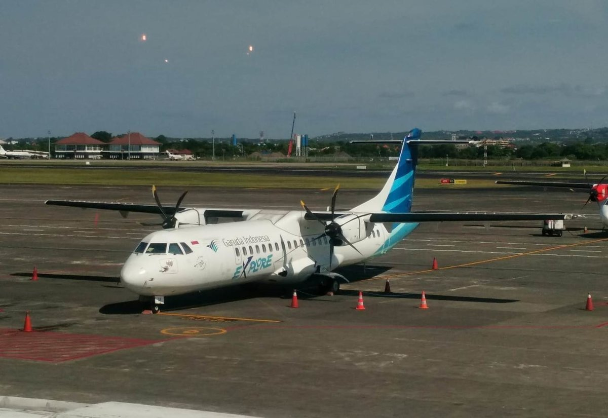 Garuda Indonesia, ATR 72-600, PK-GAE, Denpasar International Airport (DPS), 7.4.2019