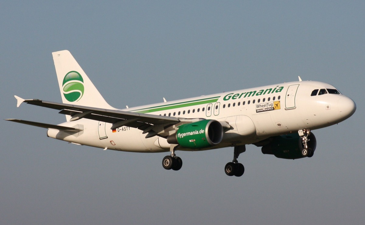 Germania,D-ASTY,(c/n3407),Airbus A319-112,03.10.2013,HAM-EDDH,Hamburg,Germany