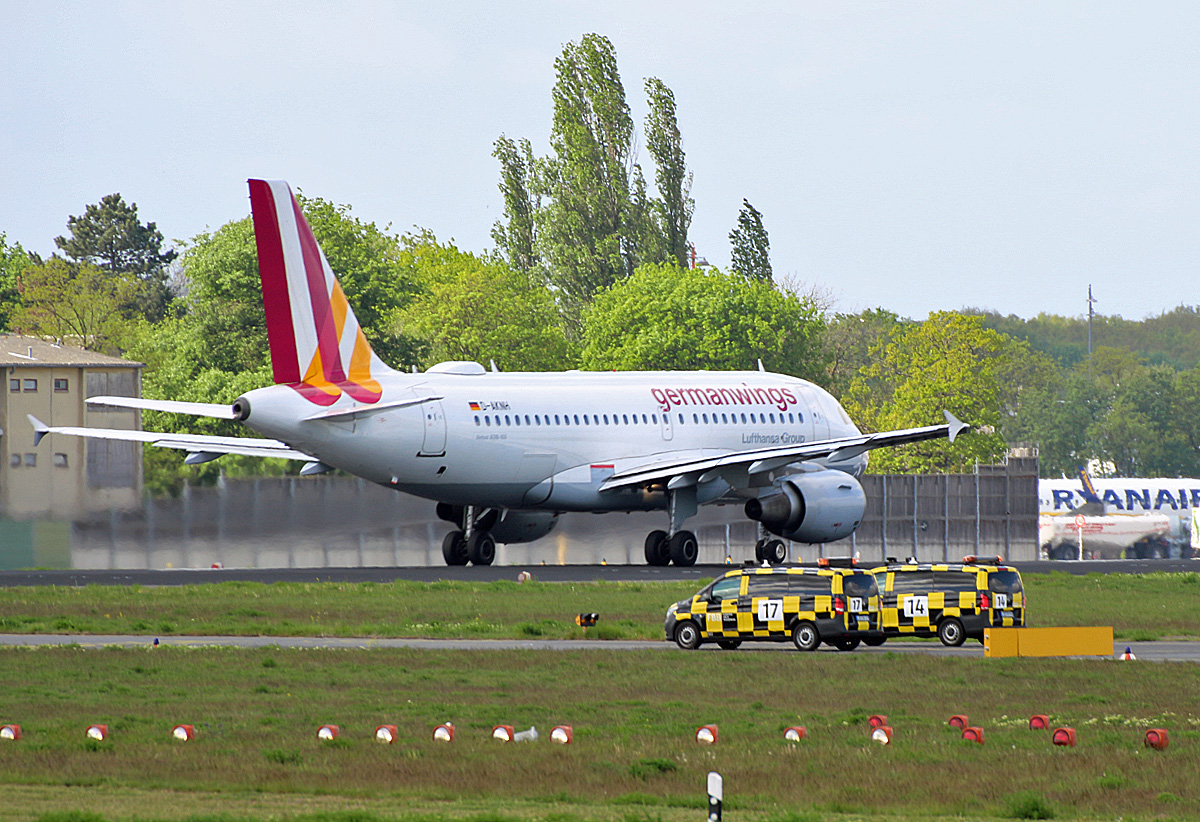 Germanwings, Airbus A 319-112, D-AKNH, TXL, 03.05.2019