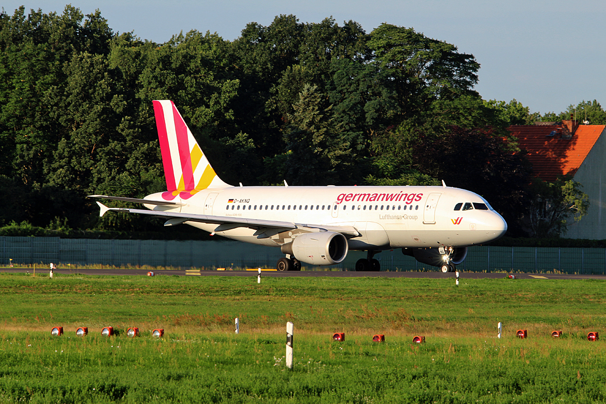 Germanwings, Airbus A 319-112, D-AKNQ, TXL, 05.08.2017