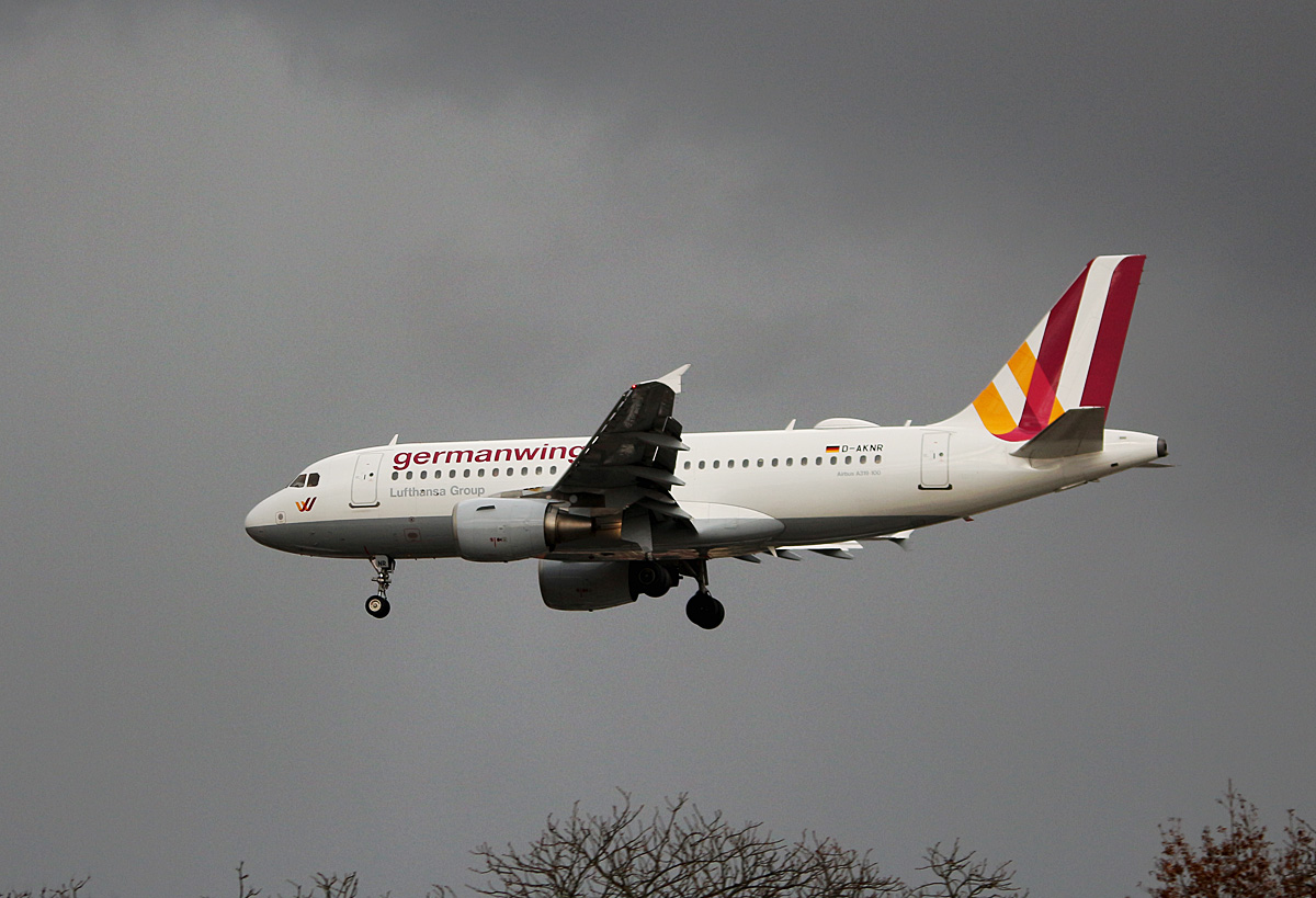 Germanwings, Airbus A 319-112, D-AKNR, TXL, 18.11.2016