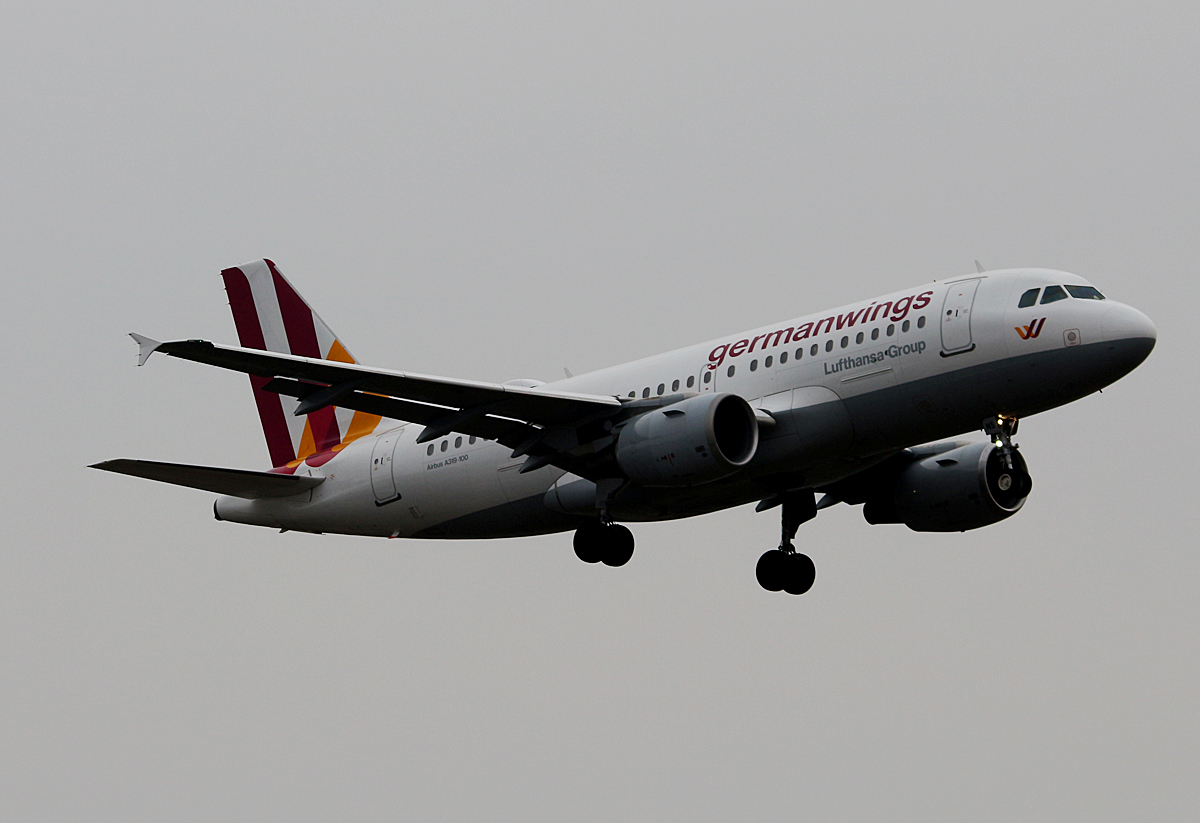 Germanwings, Airbus A 319-112, D-AKNS, TXL, 19.02.2017