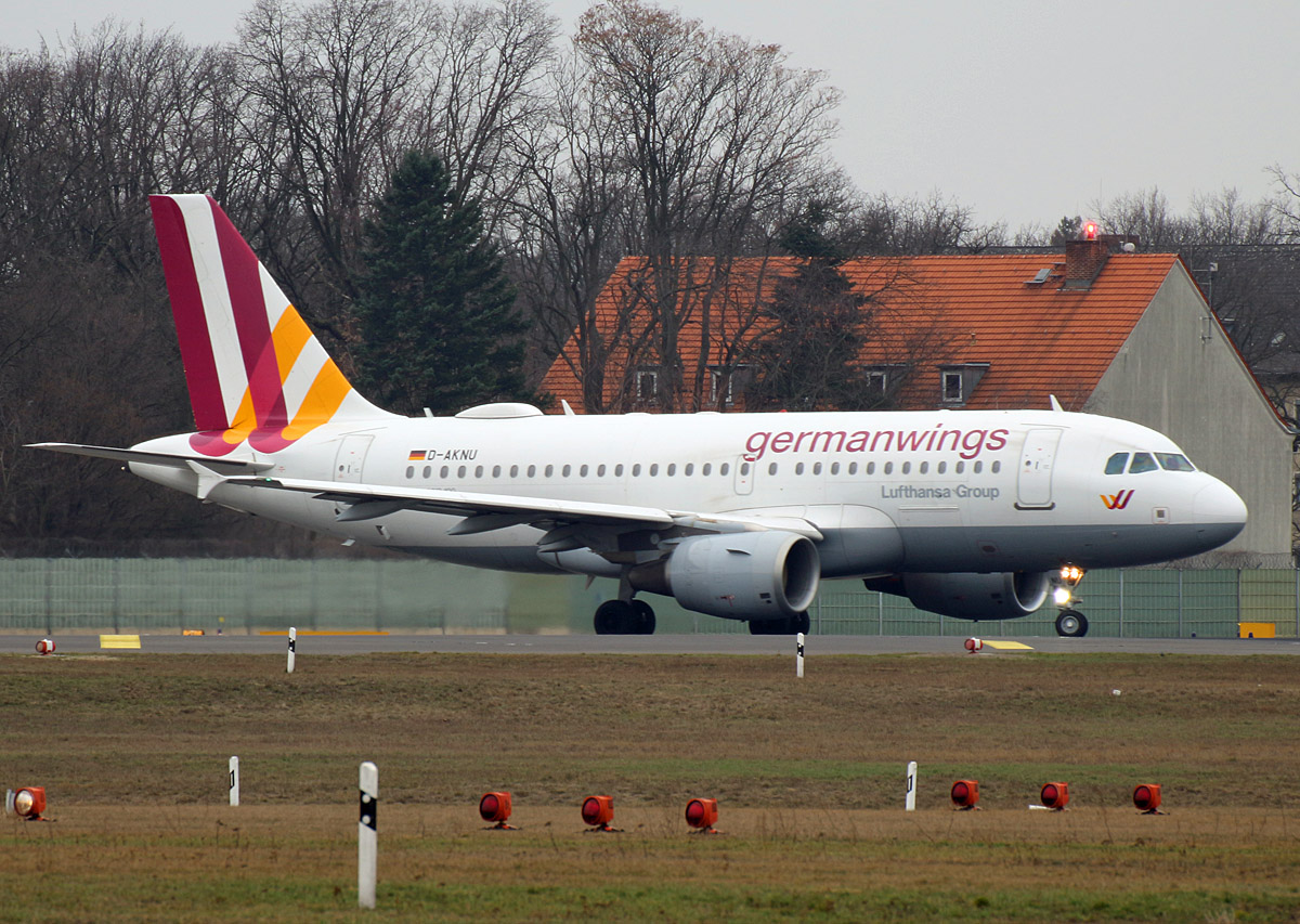Germanwings, Airbus A 319-112, D-AKNU, TXL, 02.03.2019