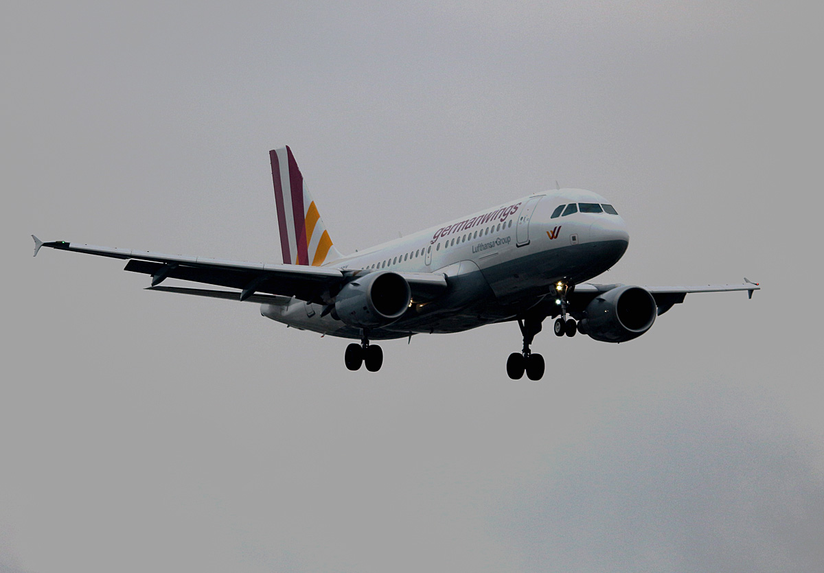 Germanwings, Airbus A 319-112, D-AKNV, TXL, 23.10.2016