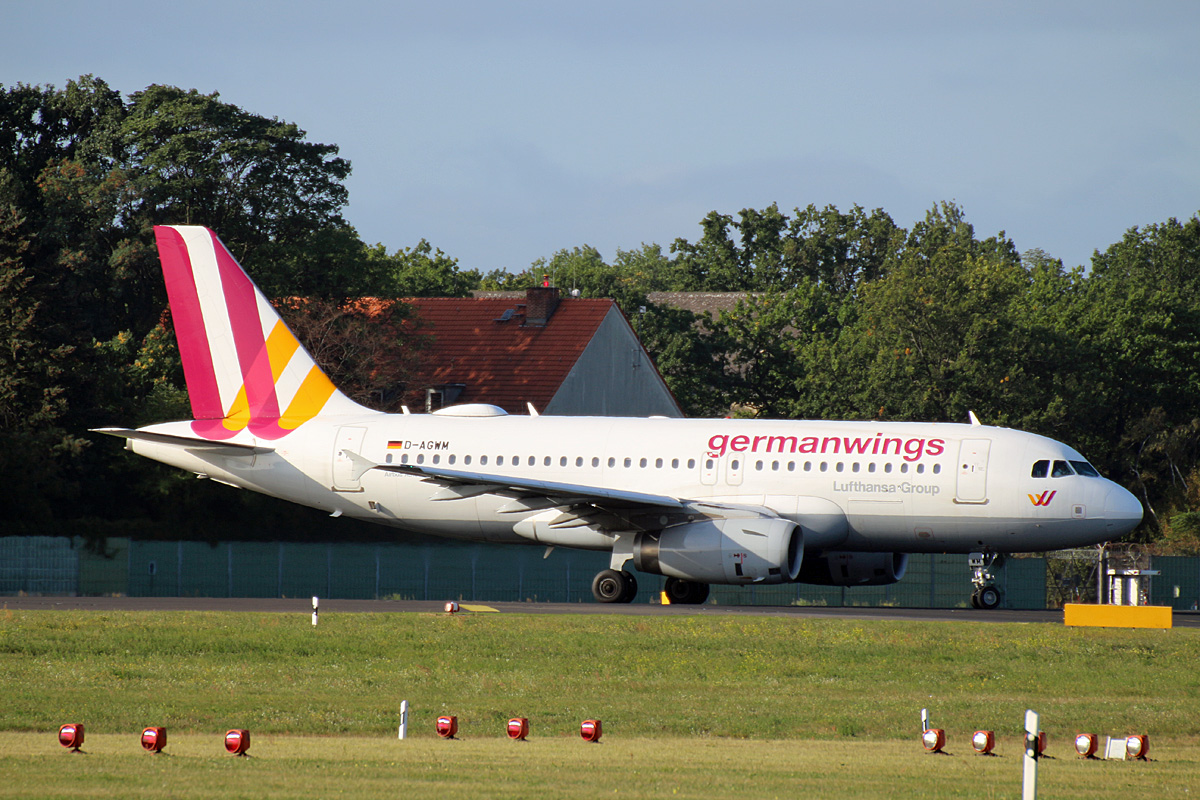 Germanwings, Airbus A 319-132, D-AGWM, TXL, 19.09.2019