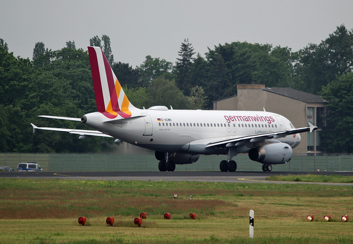 Germanwings, Airbus A 319-132, D-AGWN, TXL, 26.06.2017