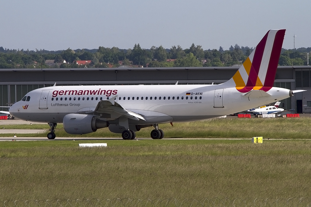 Germanwings, D-AKNI, Airbus, A319-112, 03.06.2015, STR, Stuttgart, Germany