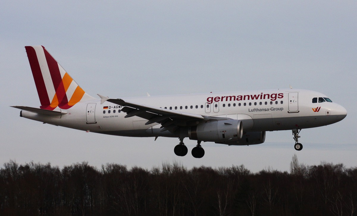 Germanwings,D-AGWF,(c/n3172),Airbus A319-132,04.01.2014,HAM-EDDH,Hamburg,Germany