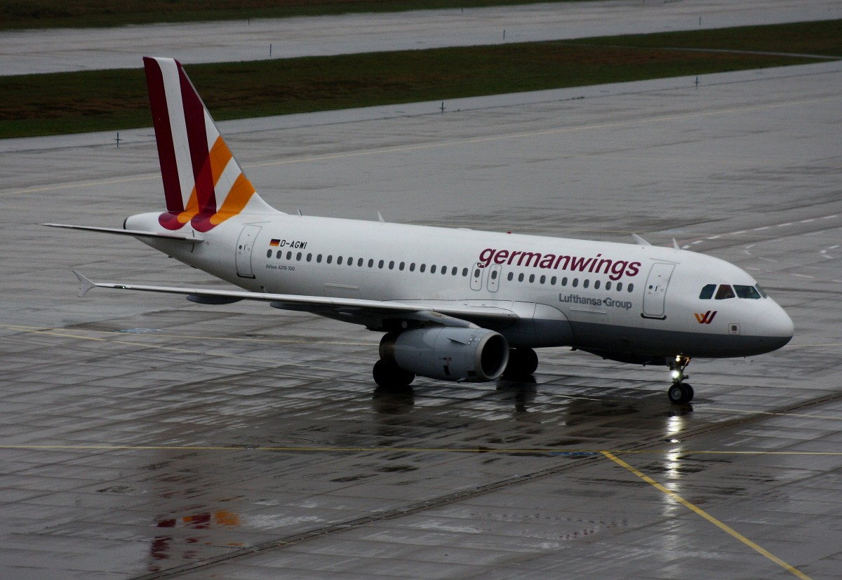 Germanwings,D-AGWI,(c/n 3358),Airbus A319-132,16.11.2014,CGN-EDDK,Köln-Bonn,Germany