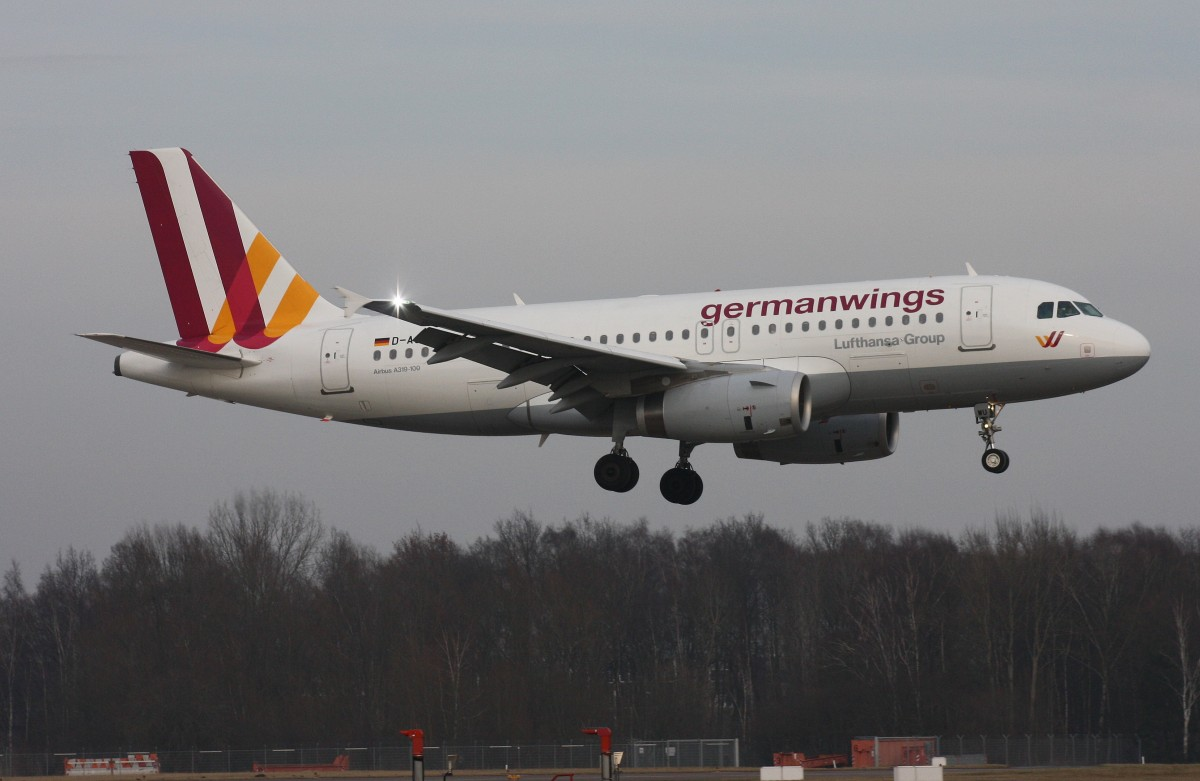 Germanwings,D-AGWU,(c/n5457),airbus A319-132,05.02.2014,HAM-EDDH,Hamburg,Germany