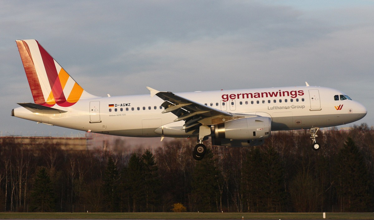 Germanwings,D-AGWZ,(c/n5978),Airbus A319-132,20.03.2014,HAM-EDDH,Hamburg,Germany(Delivered 21.02.2014)