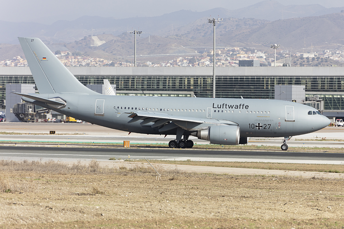 Germany - Air Force, 10+27, Airbus, A310-304MRTT, 28.10.2016, AGP, Malaga, Spain