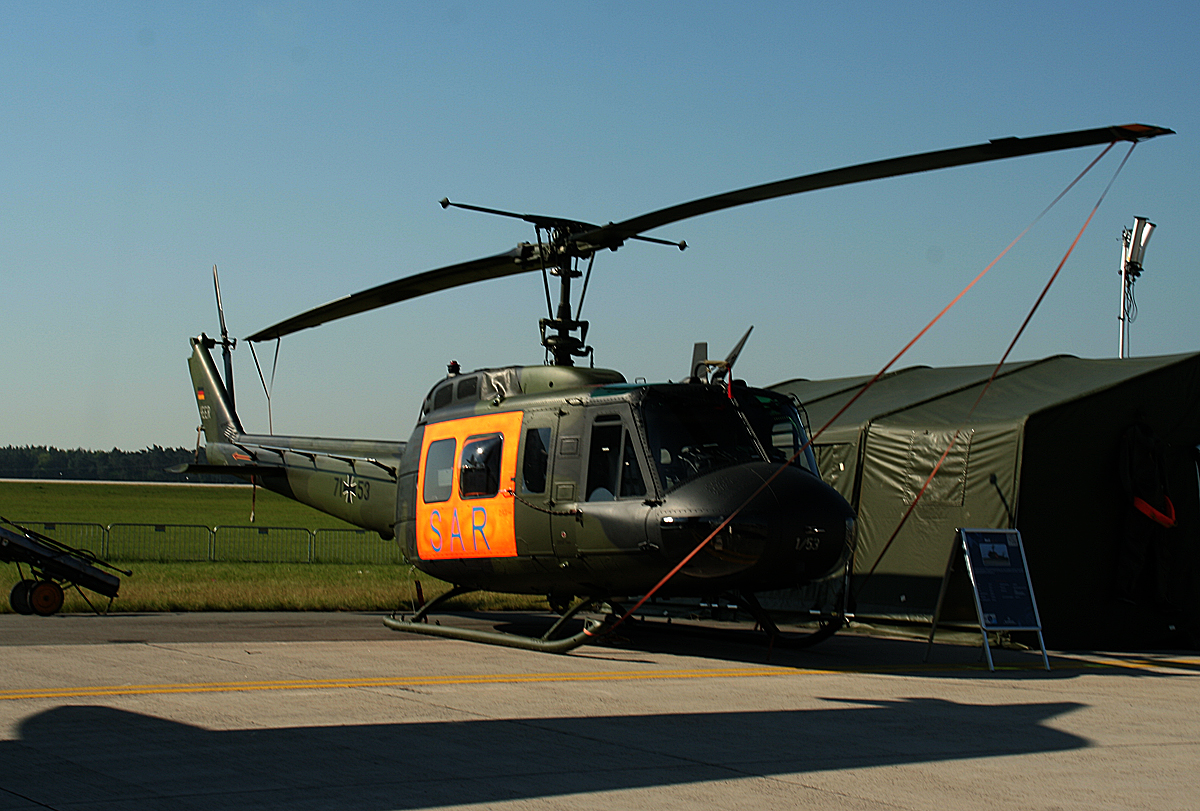 Germany Air Force, Bell UH-1D, 71+53, ILA, 20.05.2014
